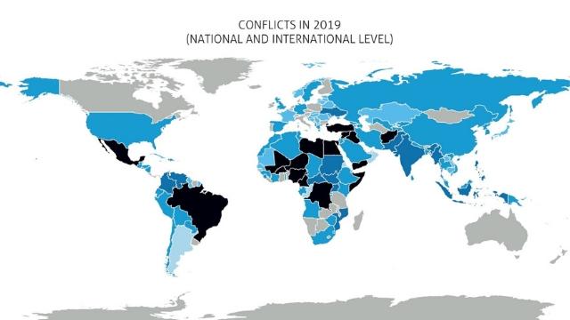 Cartina Guerre Nel Mondo.Conflitti Attualmente In Corso Nel Mondo Documentazione Info
